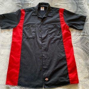 Dickies Men Button Down Shirt